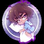 PantslessPajamas Fanart | Sleepy Chibi