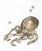 Mechanical Octopus by KiriMothDesigns