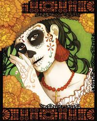 Dia de los Muertos 2009 by KiriMothDesigns