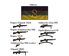 WWII Alimerian weaponry by Alimeria298