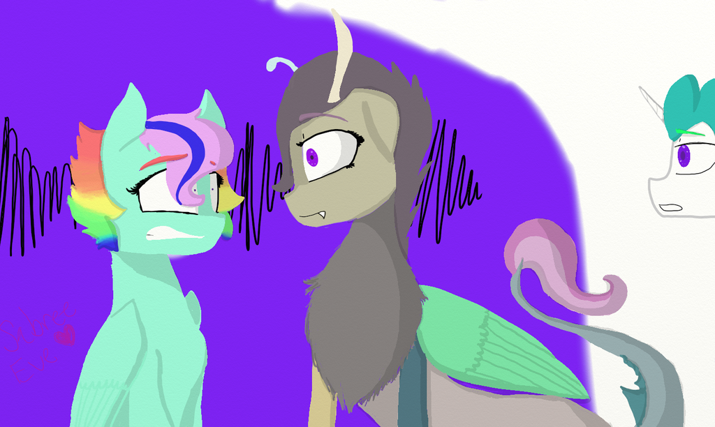 Are you two related ? by SabreeEve