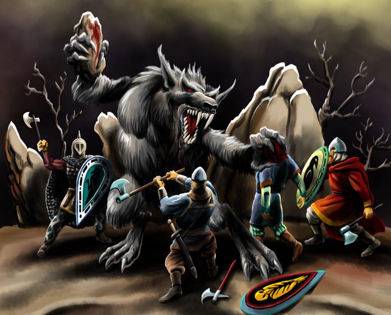 BattleWolf by rominamarco