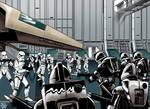Cylon vs Stormtrooper