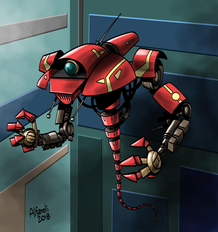 Z39 Robot by rominamarco