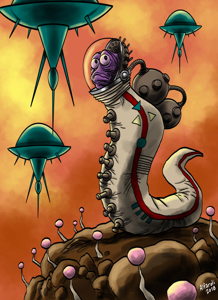 Worm by rominamarco