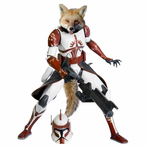 commander fox under the helmet by ninja coldfire on deviantart. Black Bedroom Furniture Sets. Home Design Ideas