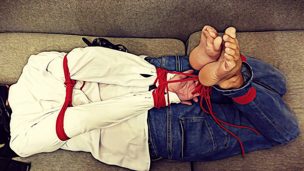 Home hostage kidnapped and left hogtied