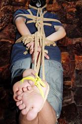 Tight Bondage Hogtied