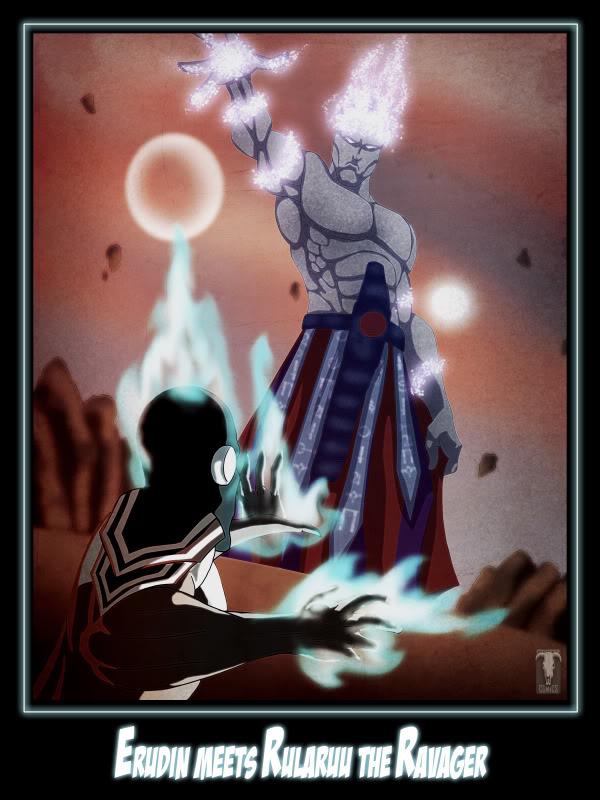 Erudin Meets Rularuu The Ravager by Numa430