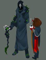 Grim Grandpa by Numa430