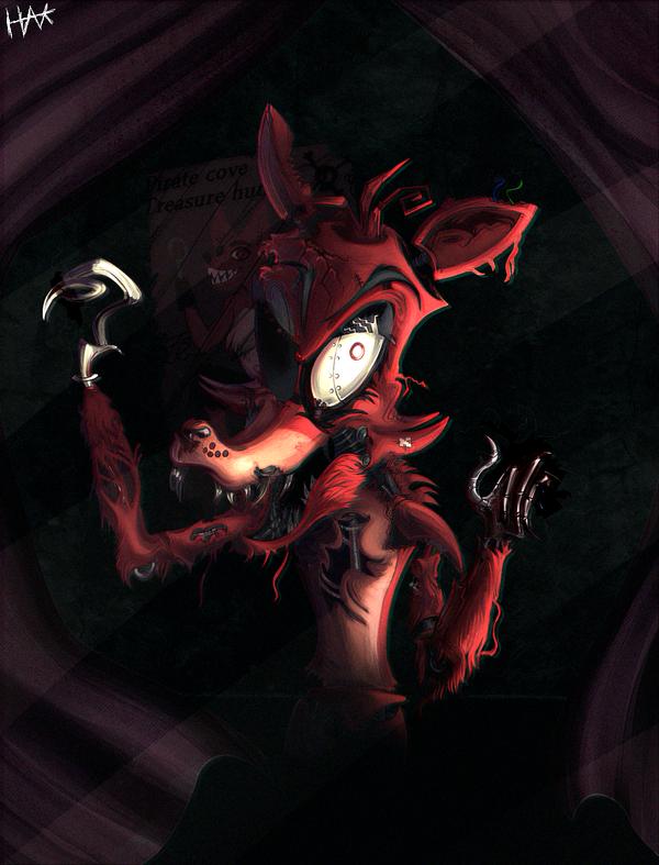 Foxy The Pirate Fox by HanksBeanieHat