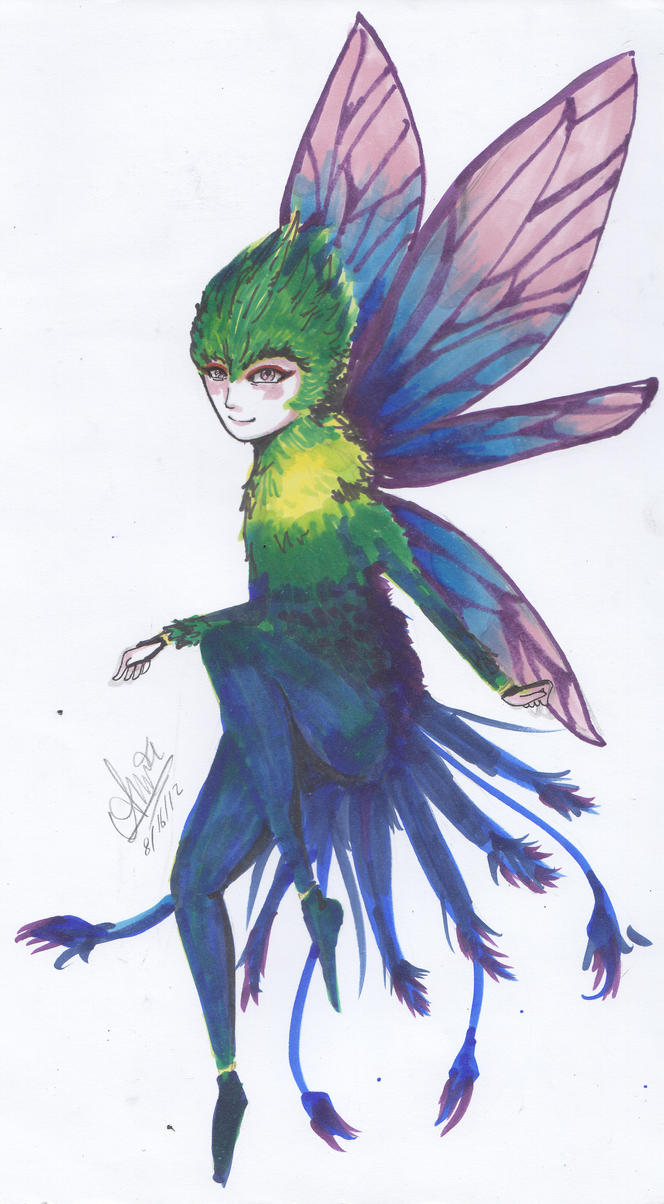 Tooth fairy rise of the guardians human