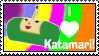 Katamari Love Stamp by LoveandCake