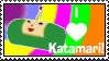 Katamari Love Stamp by LoveandCake
