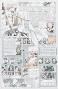 Tsurumaru Kuninaga Layout by k3tii