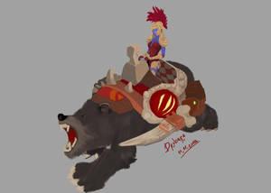 Troll War Rider