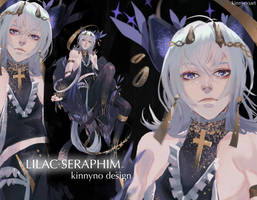 [OPEN] AUCTION LILAC SERAPHIM by KINNYno