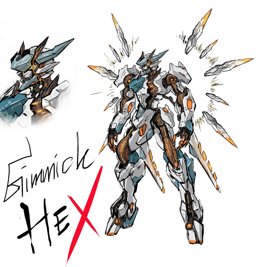 Gimmick Hex by wingsyo