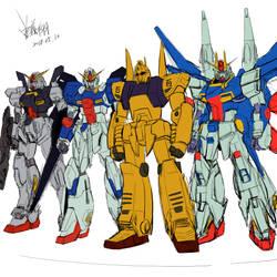 Fake gundam team by wingsyo