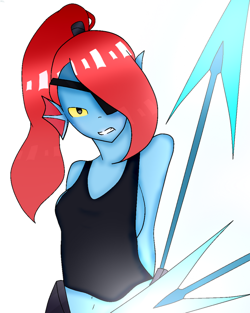 Undyne The Warrior by CeceTheAnimator