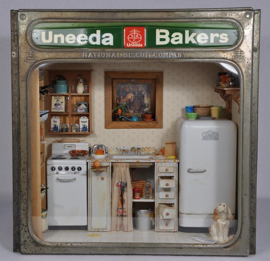 Uneeda Bakers Kitchen Mini By MiniatureMadness ...