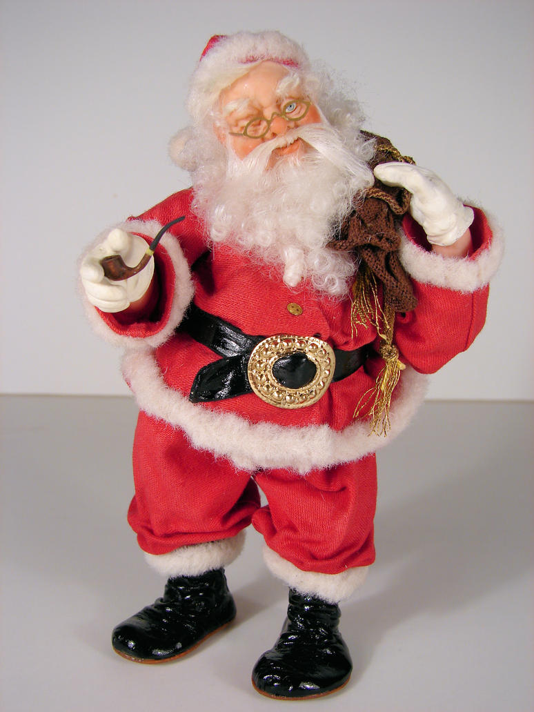 1 12 scale santa doll from by miniaturemadness on for Mini tin mailboxes for crafts
