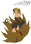 girl in RPG magicien