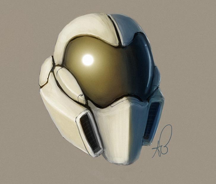 Jan Random Helmet by shinypants