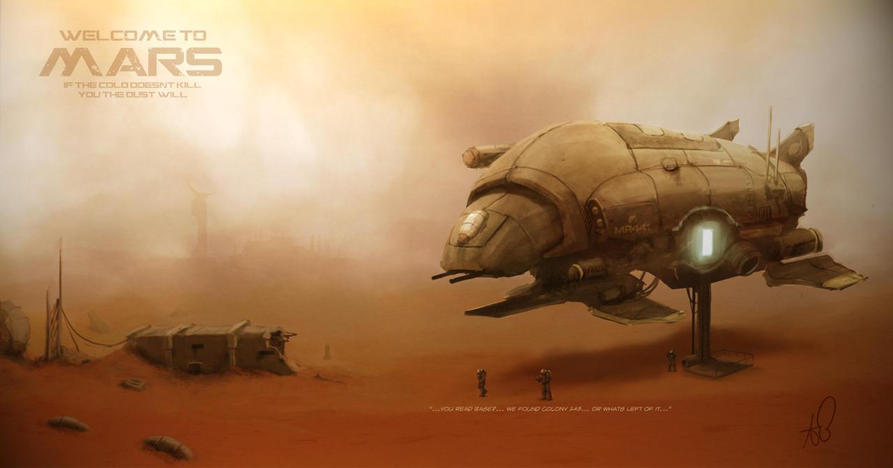 Welcome To Mars - CGpad by shinypants