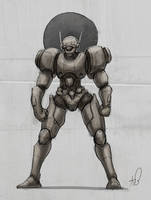 22-20 Mecha Sketch by shinypants