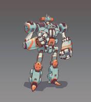 Robo Mecha by shinypants