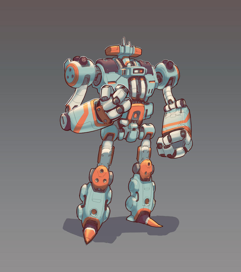 Robo Mecha by shinypants