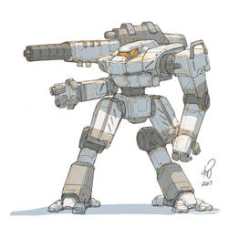 Hollander Battlemech by shinypants
