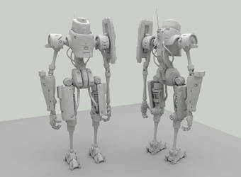 Standing Around Bot by shinypants