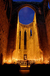 Gothic Cloister Ruin by RitterRunkel