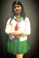 Kagome Cosplay--Anime Midwest '13 (READ DESCRIP) by nursal1060