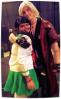 Kagome and Dante--Anime Midwest '13 (READ DESCRIP) by nursal1060