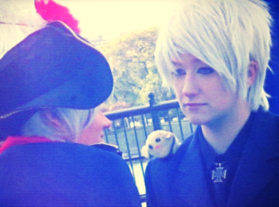 Aph Cosplay-Prussia-Staring at myself by nursal1060