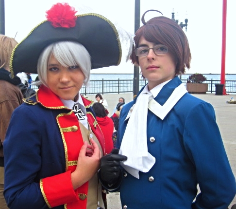 APH Cosplay-Prussia/Austria-Friends and Rivals by nursal1060