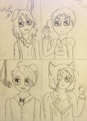 Five Nights at FACE - APH and FNAF Crossover by nursal1060