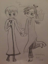 APH Rochu Sketch (for BakaOtaku) by nursal1060