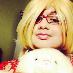 APH Cosplay-Kumajiro and Fem Canada by nursal1060