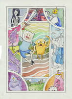ADVENTURE TIME by fishydraws