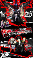 PERSONA 5 Wallpaper for iPhone 5, 5c, 5s, SE