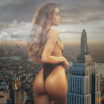 Queen Kong! (Giantess Sommer Ray)