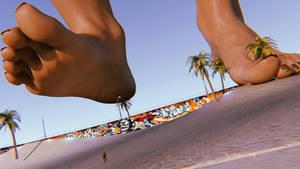 Beach Bodybuilder (After Growth)