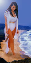 Giantess Kim Kardashian