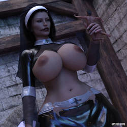The Nun | Spooktober Special by GTSX3D