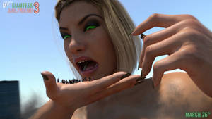 MY GIANTESS GIRLFRIEND 3 | Preview 5