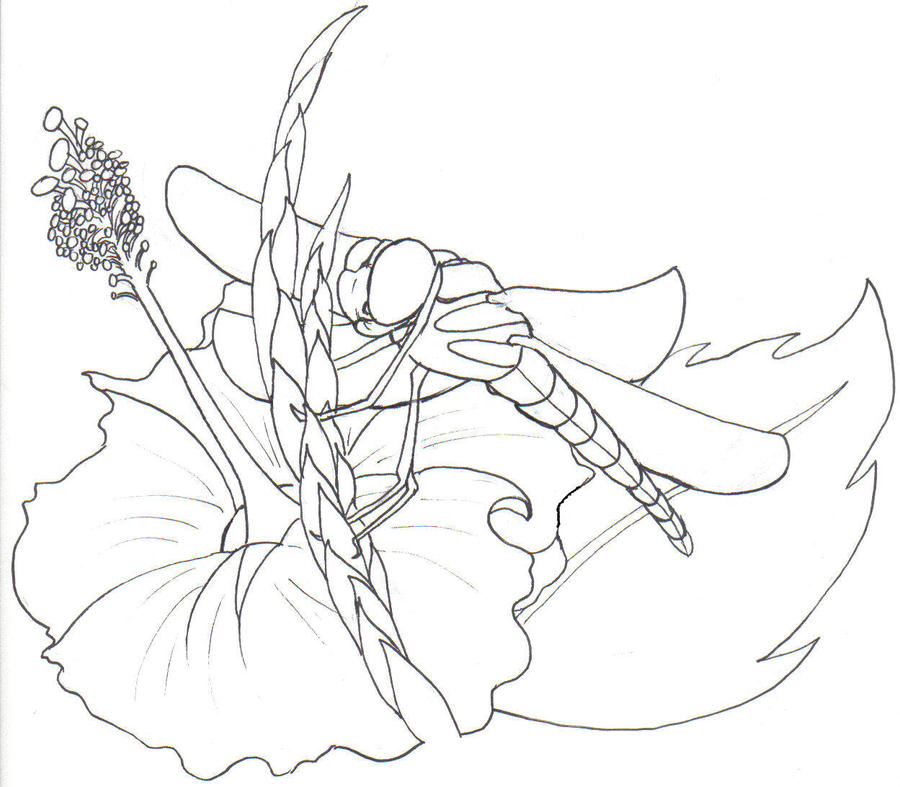 Dragonfly design - dragonfly tattoo